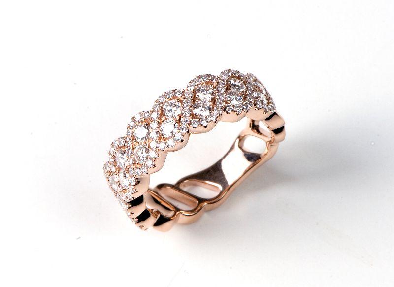 Rose gold and diamonds! Available at 14 Karat Omaha.