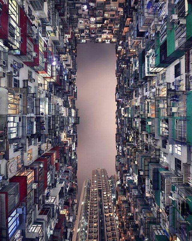 Hong Kong China Tile Wallpaper Decor Interior House Style Wood Panel Photo Hong Kong Photography City