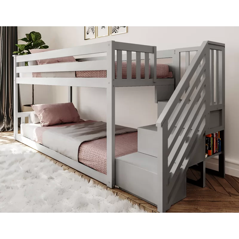 Kean Twin Over Twin Bunk Bed In 2020 Twin Bunk Beds Bunk Beds