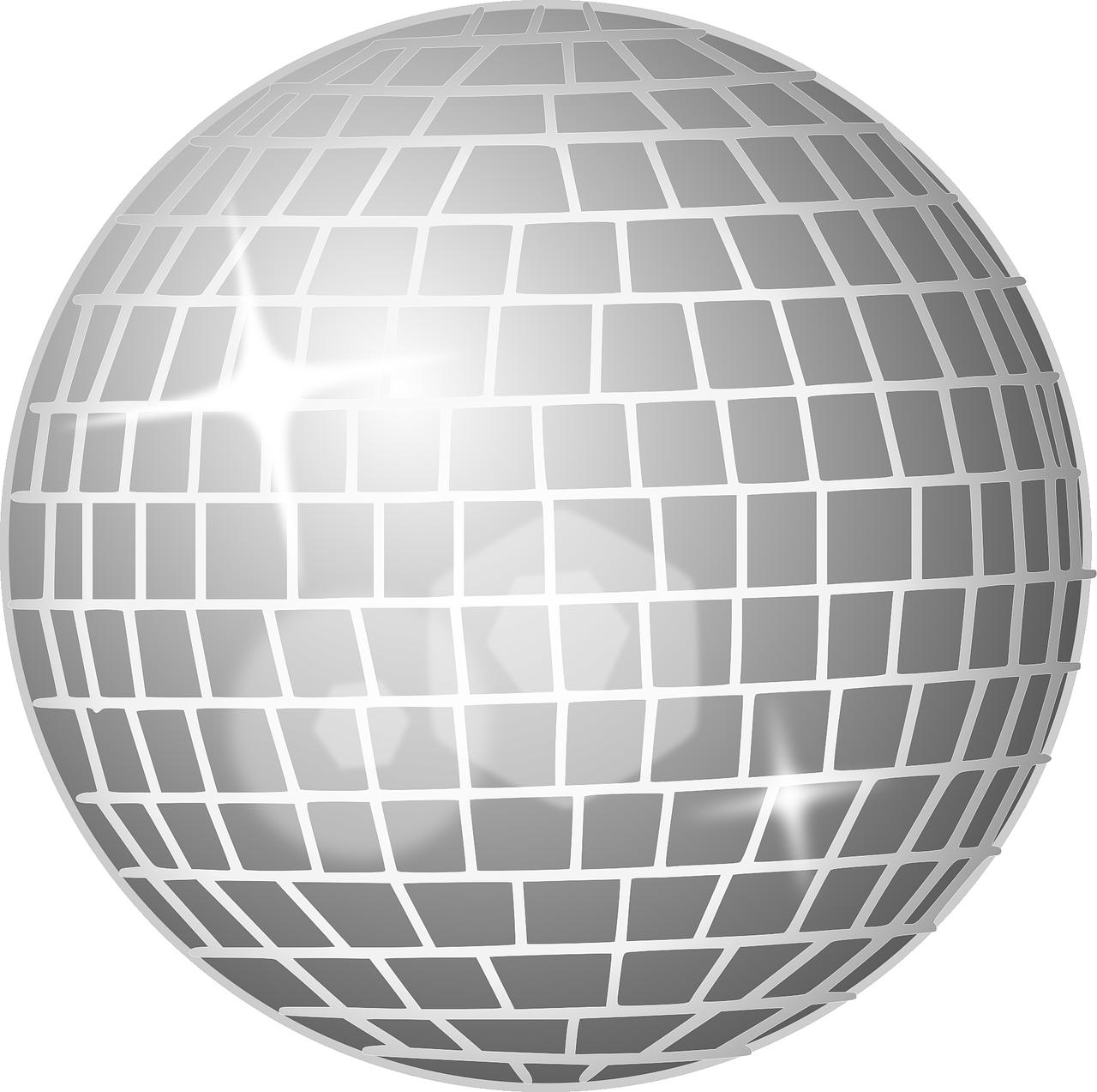 Disco Ball Mirror Glitter Free Vector Graphic On Pixabay Disco Ball Mirror Disco Ball Mirror Ball