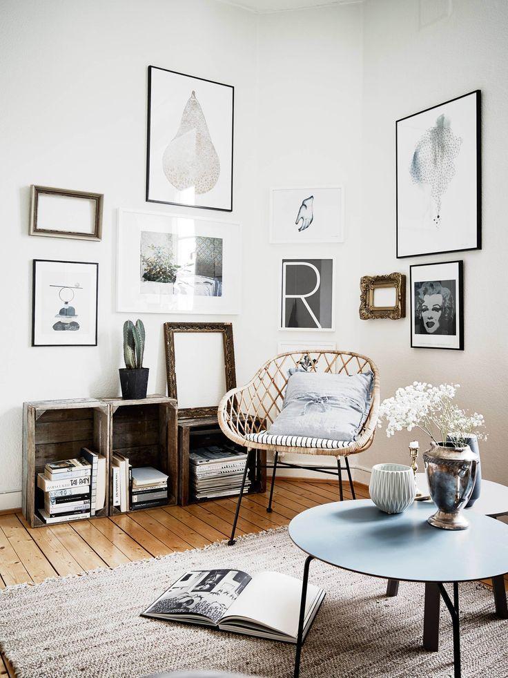 Rincón de lectura DecoLiving Pinterest Interiores, Decoración