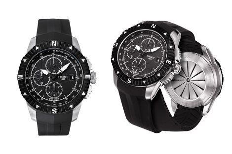 La Tissot Navigator automatic est une montre d'aviateur ou pour tous les passionnés d'aviation. Elle existe en version chronographe ou version 3 aiguilles. Disponible entre 600 et 850 euros.
