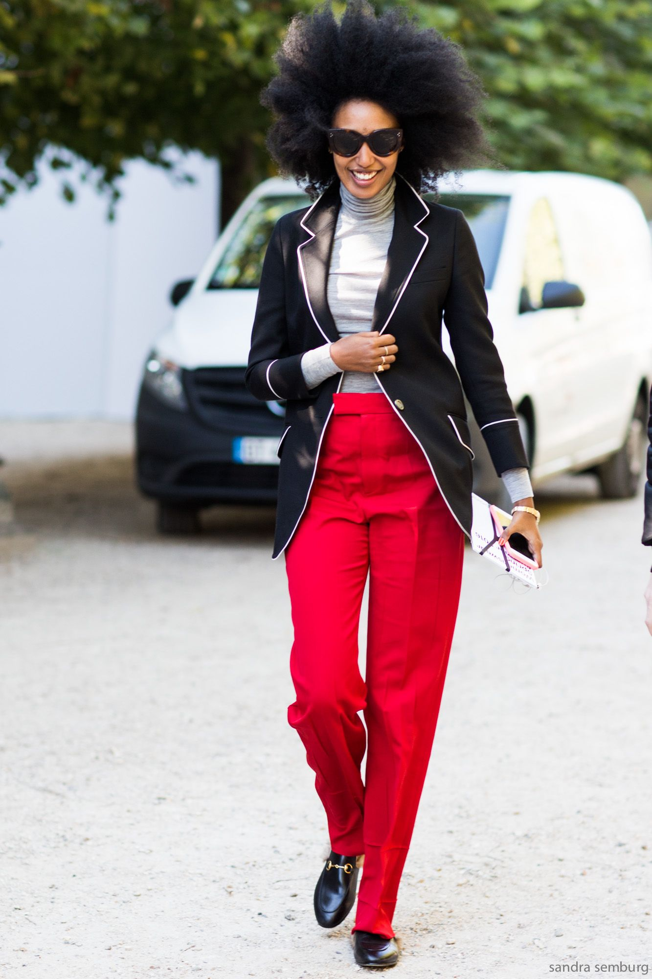 Paris Fashionweek Day 2 / Street Style #streetstyle #fashion #streetfashion