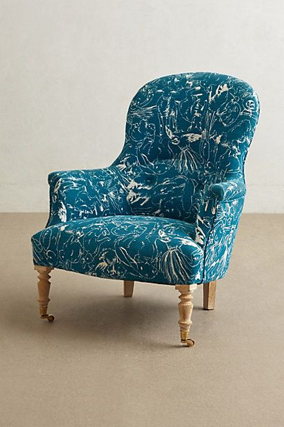 Printed Parker Armchair | Living Room | Pinterest ...