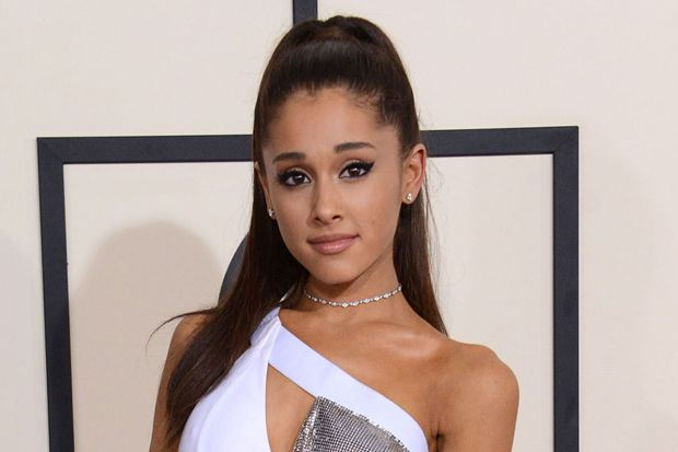Ariana Grande Gets Another Neck Tattoo