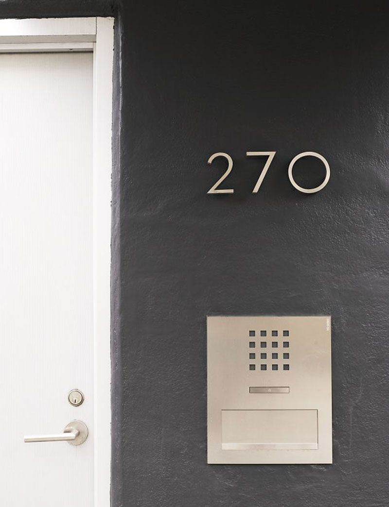 10 Modern House Number Ideas To Dress Up Your Home Minimalist