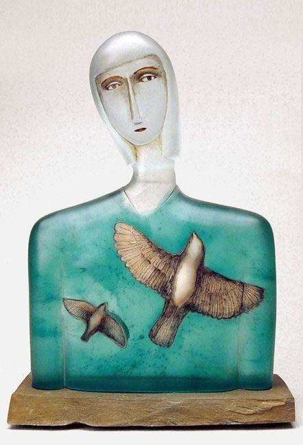 Robin Grebe - Apogee - Glass and mixed media
