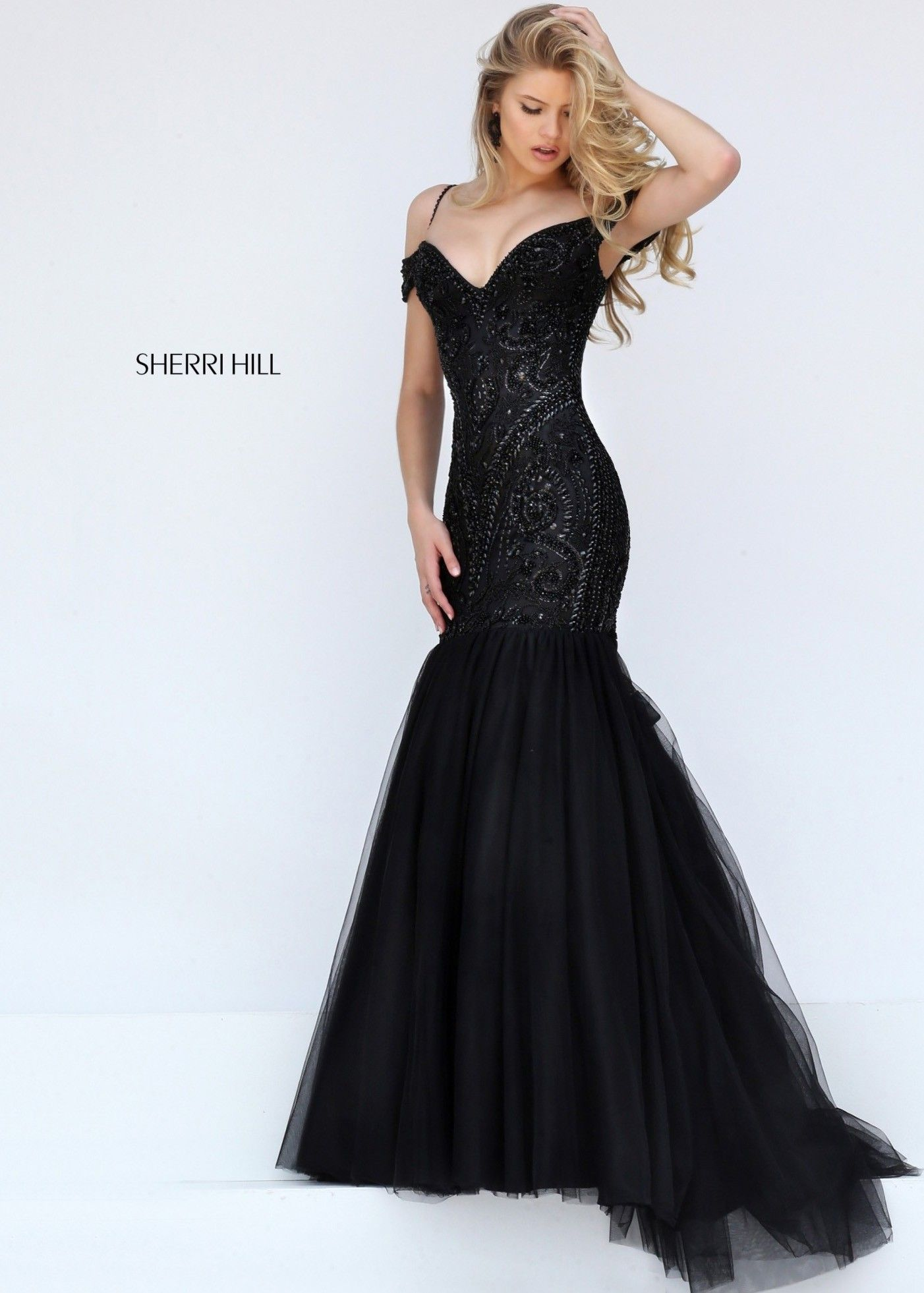 Sherri Hill 50212 Captivating Trumpet Gown   Trumpets, Gowns and Prom