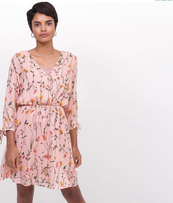 a4a0e70c448b Vestido floral - Renner 2016 | Renner Moda | Vestidos femininos ...