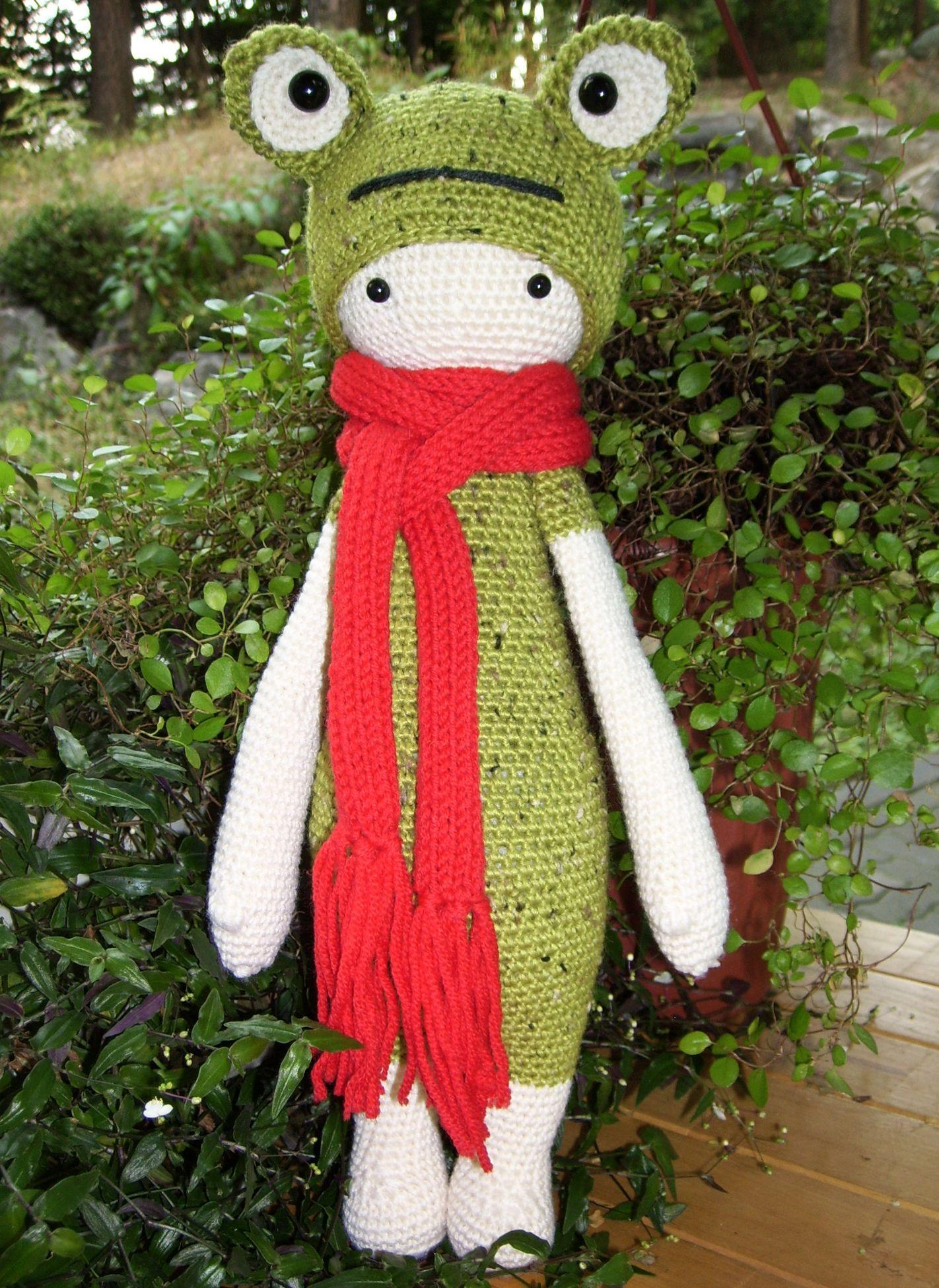 Frog mod made by knit-mania / based on a lalylala crochet pattern ...
