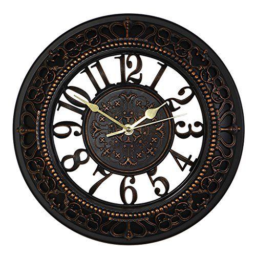 Foxtop 12 Inch Silent Wall Clock European Style Vintage R Https Www Amazon Com Dp B019mtkqxu Ref Cm Sw R Pi Dp X Jb7hybdaw8gdr