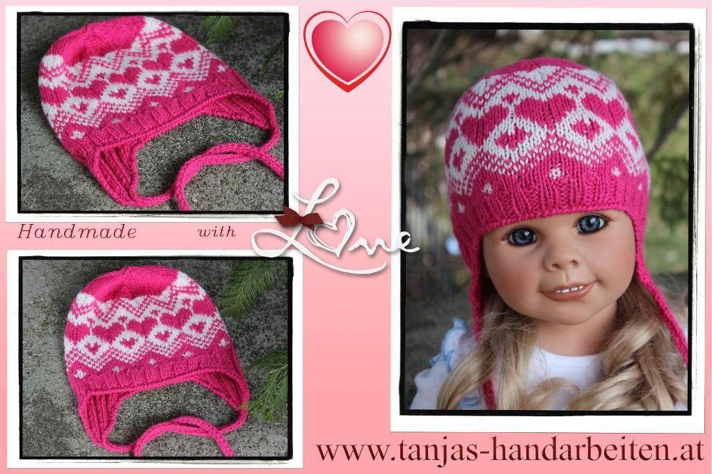 (6) Name: 'Knitting : Norwegian Earflap Hat Knitting Pattern