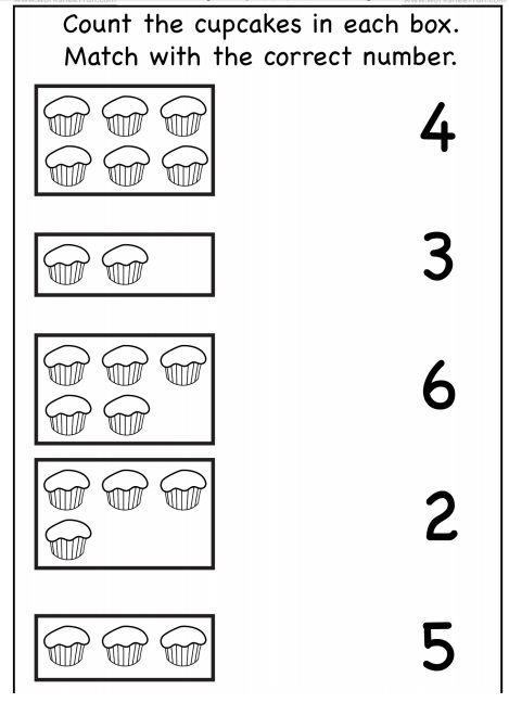 Food Number Count Worksheet 3 Crafts And Worksheets For