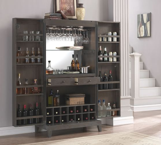 Alameda Bar Cabinet En 2019 Home Bar Ideas Cabinet