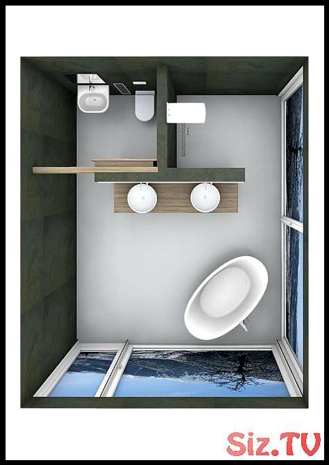 Schone Badplanung Mit Freistehender Badewanne Badewanne Badezimmereinrichtungideen Badpl Freistehende Badewanne Badewanne Bad Grundriss