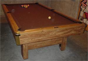 Brunswick Bristol Pool Table This Table Has Been Available In Many - Brunswick bristol ii pool table