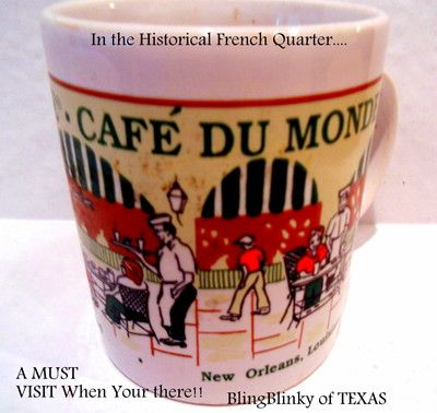 Cafe Du Monde in the French Quarter - New Orleans, LA.-EXPERIENCE the Romance!!