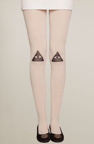 Knee Vision Tights by Drop Dead