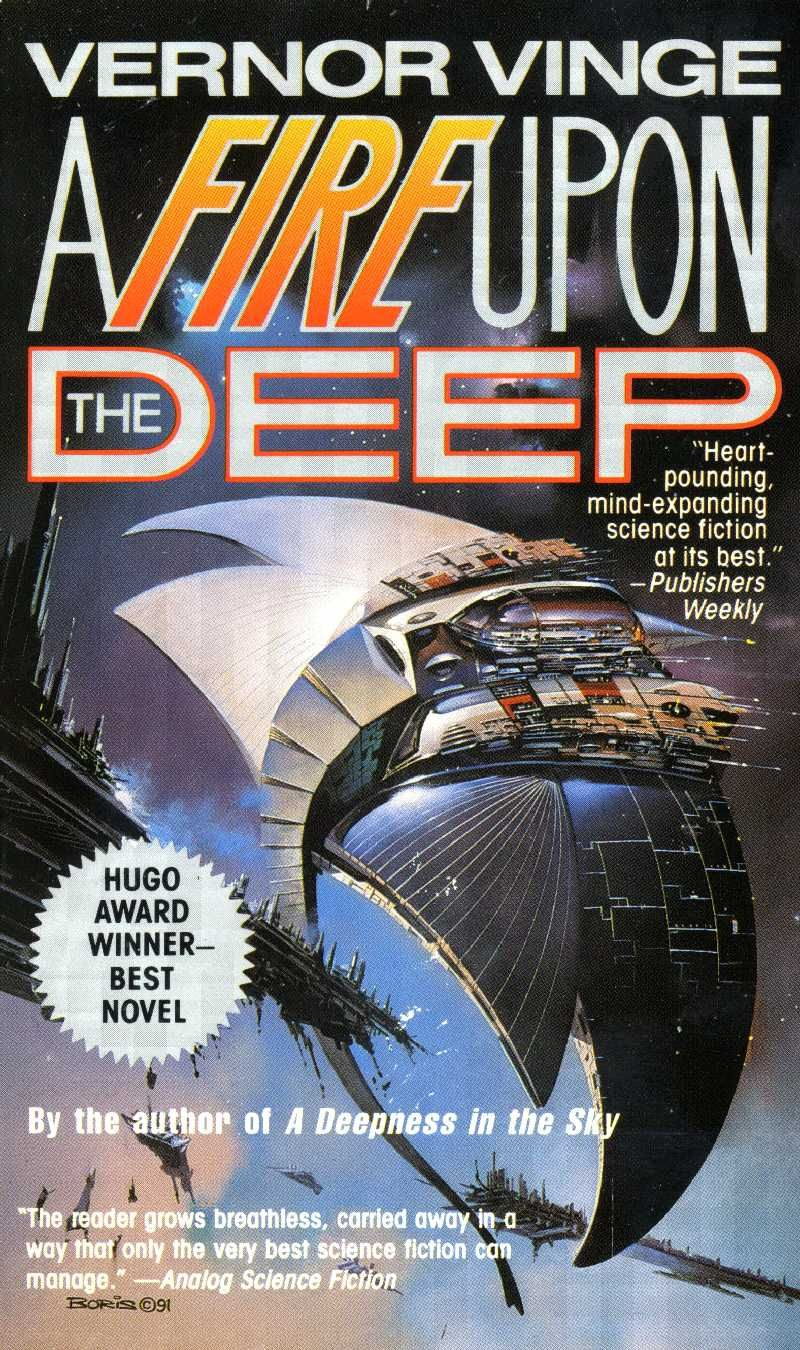 a fire upon the deep by victor vinge this novel was the first great