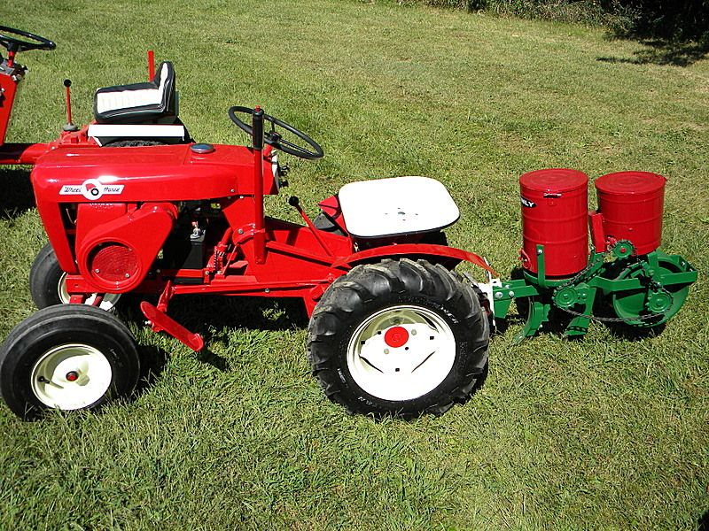 Wheel Horse 701 Brinly Planter Uploaded In