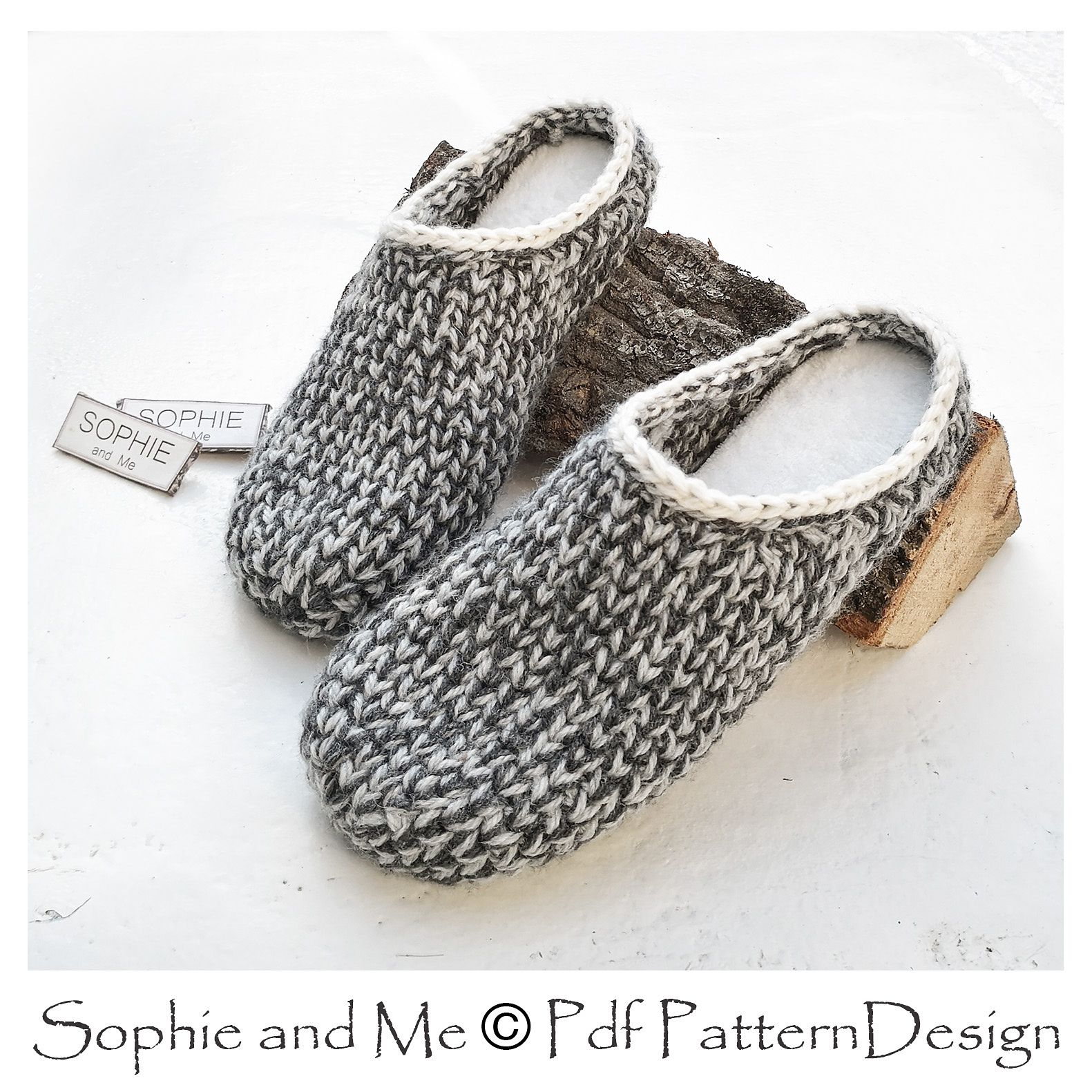 c7dad0996875fd Ravelry  Slipper-Clogs by Sophie and Me-Ingunn Santini