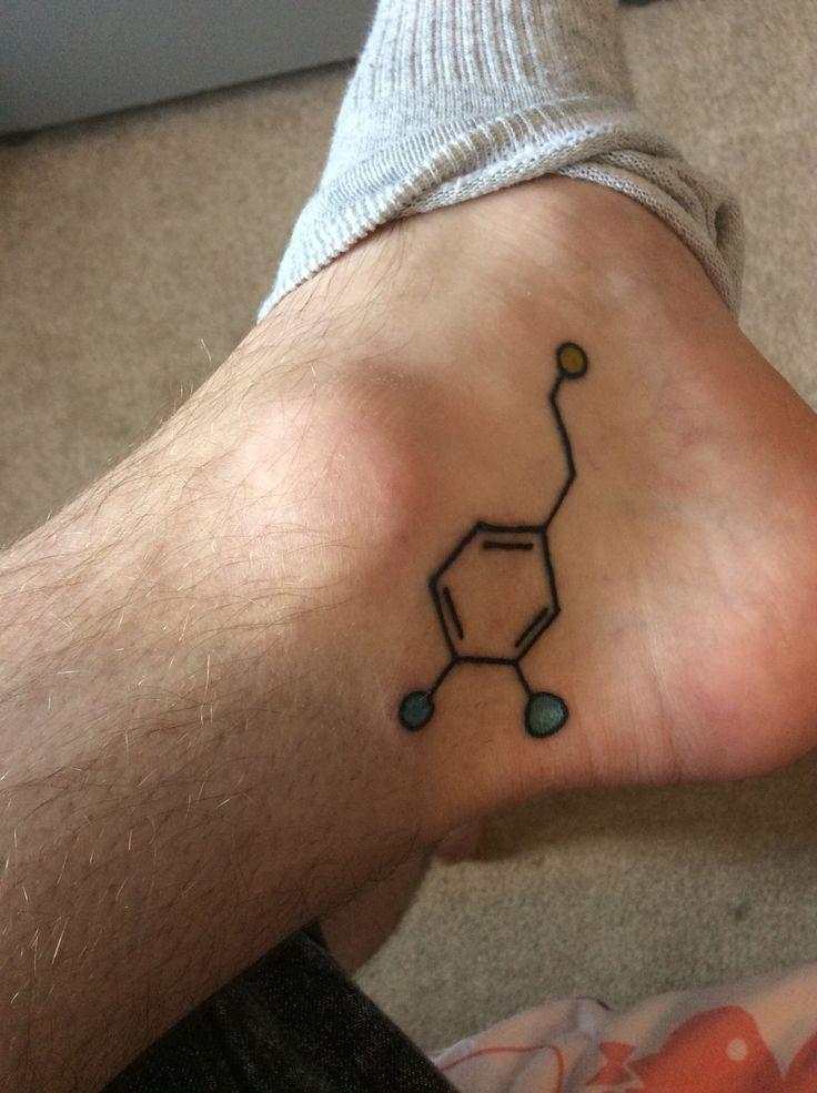 Photo of Dopaminmolekül Tattoo @ Inked Up Chester – 04.03.15 – – Dopaminmolekül Tattoo …