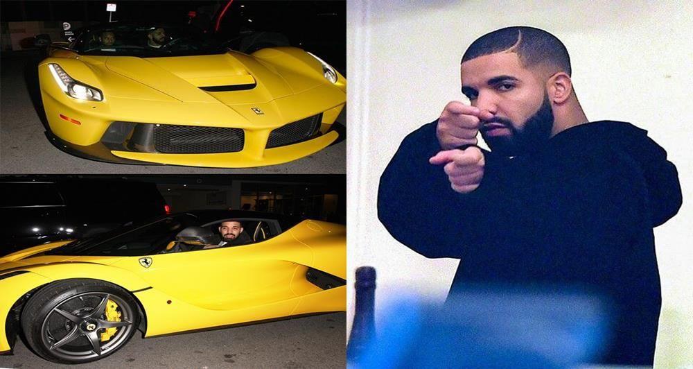 Welcome To Emmanuel Nwankwo Blogs Drake Spotted With N1 2billion Ferrari Laferrari S Ferrari Laferrari Ferrari Drake