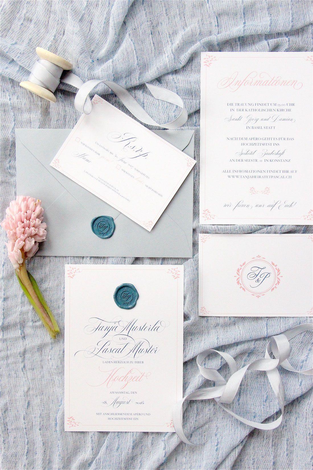 Hochzeitseinladungen Drucken Basel