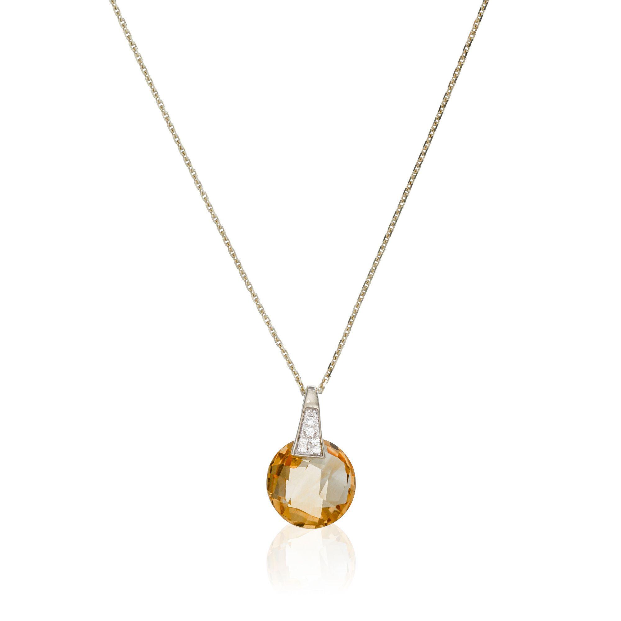 Women/'s Exquisite 925 Argent Sterling Quartz Bead étoile COLLIER Pendentif Bijoux
