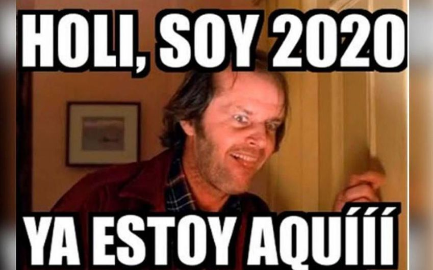Feliz Ano 2020 Los Mejores Memes Para Reir Sin Parar En Ano Nuevo Memes Comics Incoming Call Screenshot