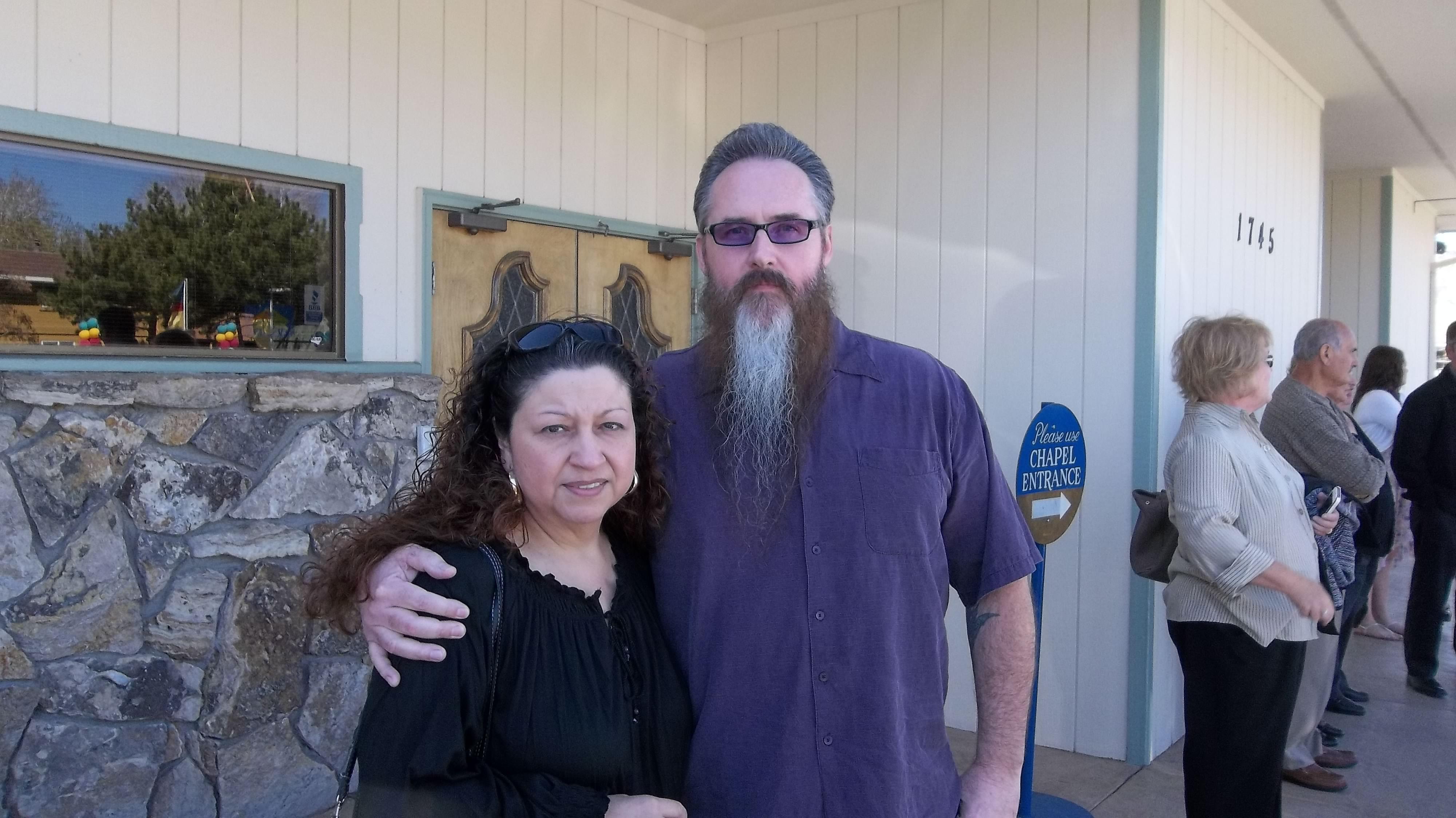 My Wife & Myself Sparks Nevada 4-18-2013... RIP Tony!