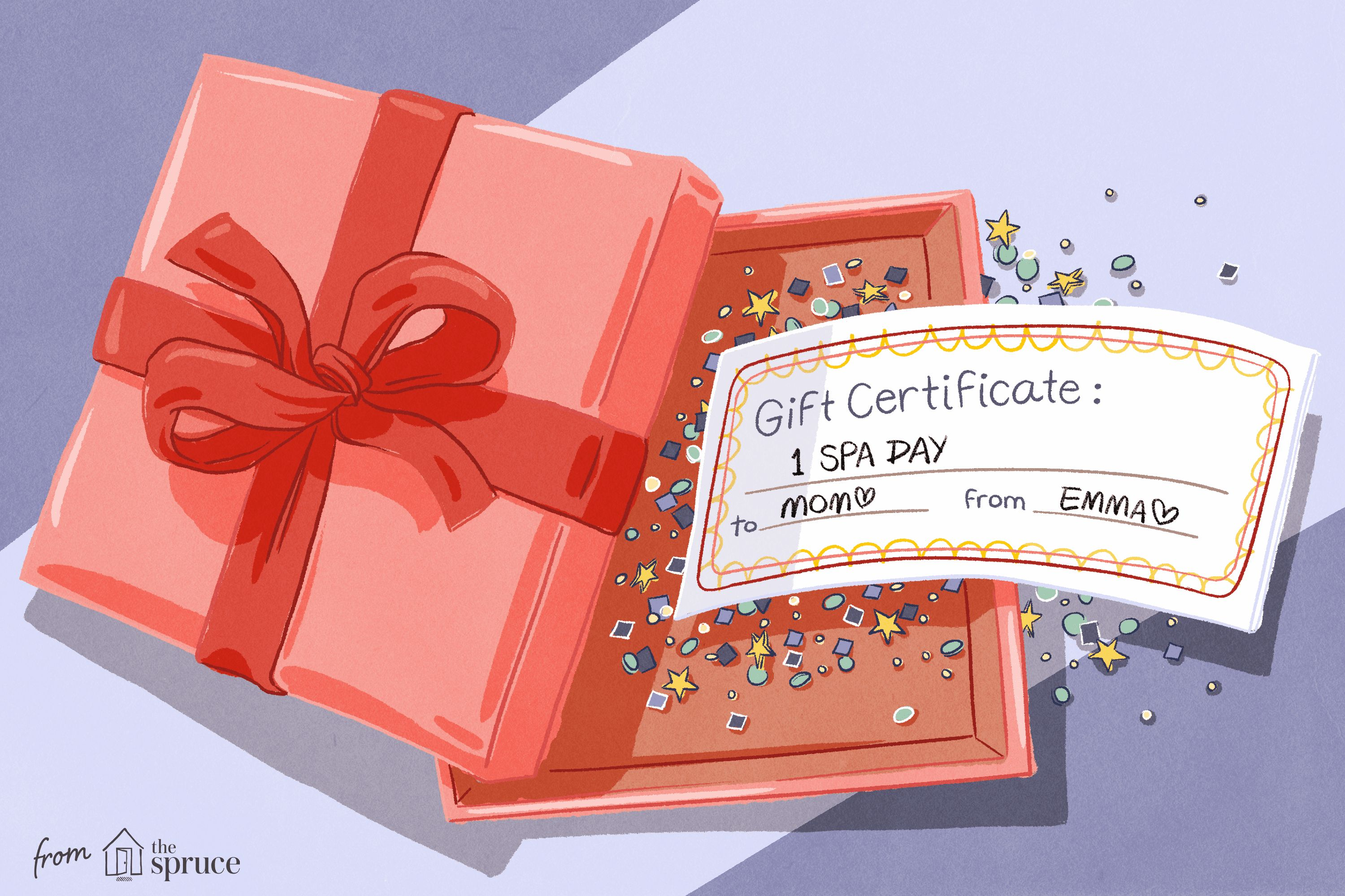 Free gift certificate templates you can customize inside