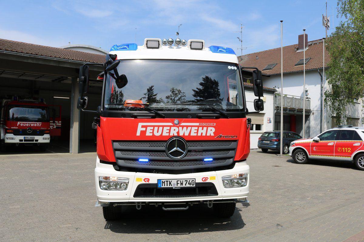 Feuerwehr Hochheim Am Main Mercedes Benz Atego Stlf2025 Florian