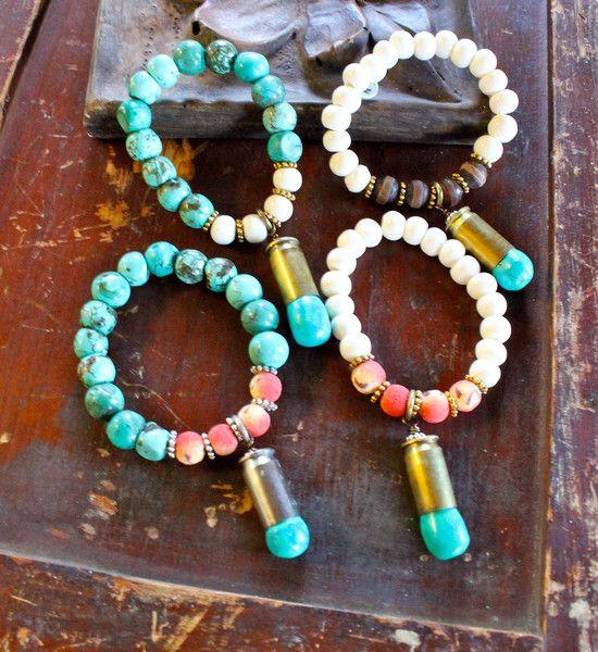 Bullet Bracelets | Johnny Loves June