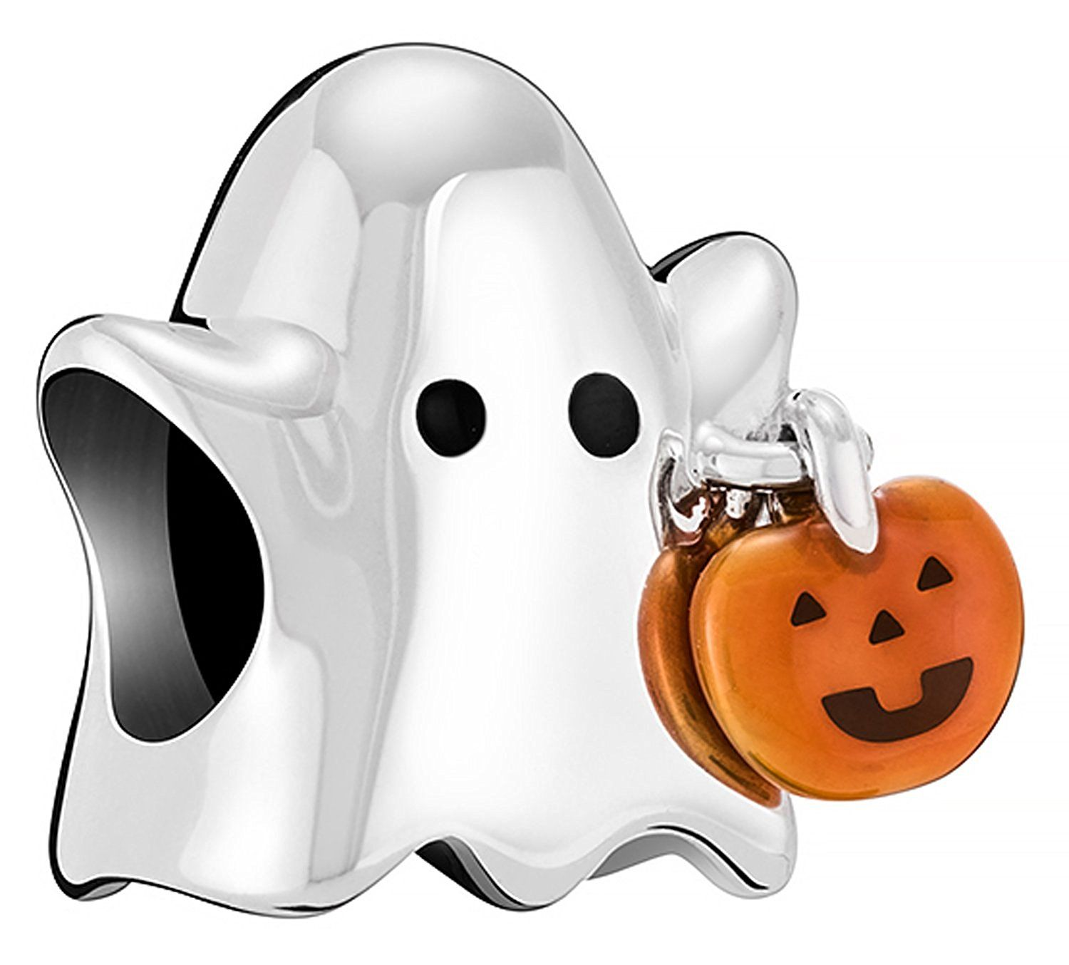 Chamilia Halloween 2020 Authentic Chamilia Ghost with Pumpkin 2020 1041 ** Want to know