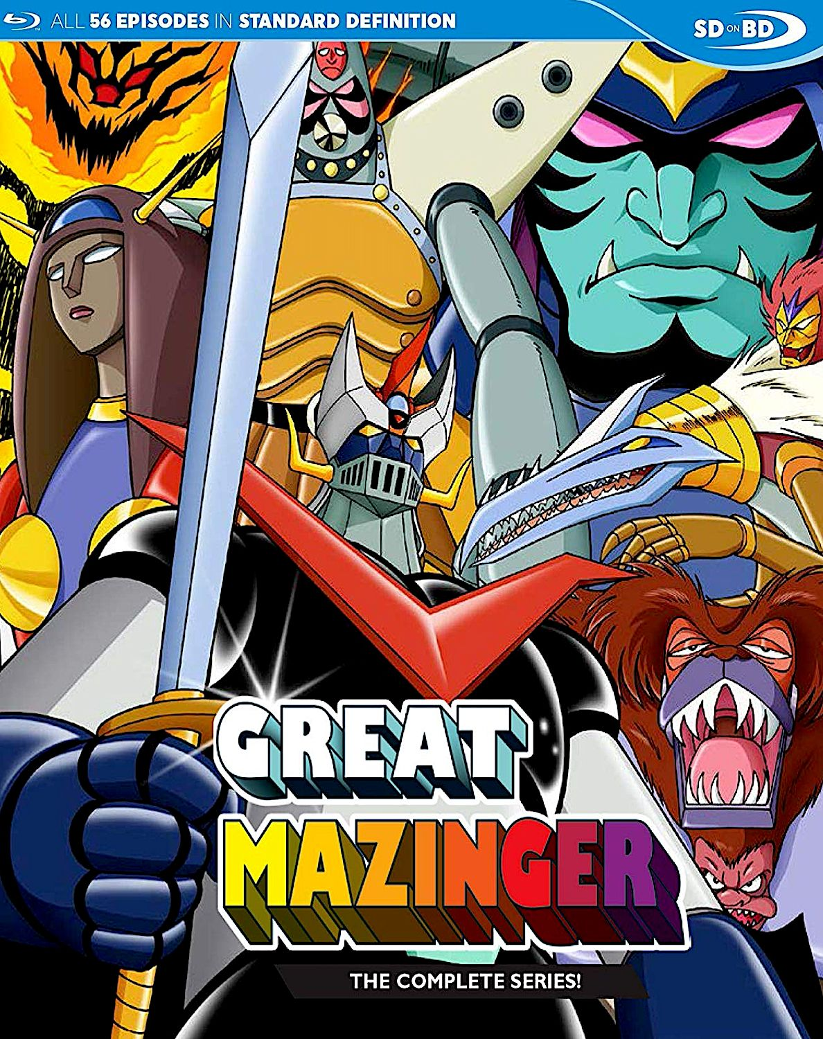 GREAT MAZINGER THE COMPLETE SERIES BLURAY SET (DISCOTEK
