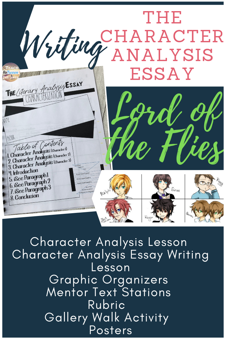 Character analysis essay writing help