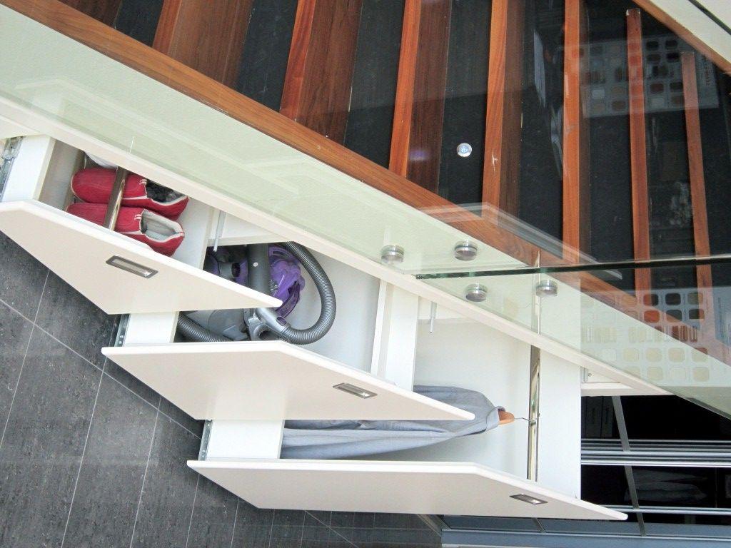Under Stair Storage stairs opened (medium) (1024×768) | casa | pinterest | stair