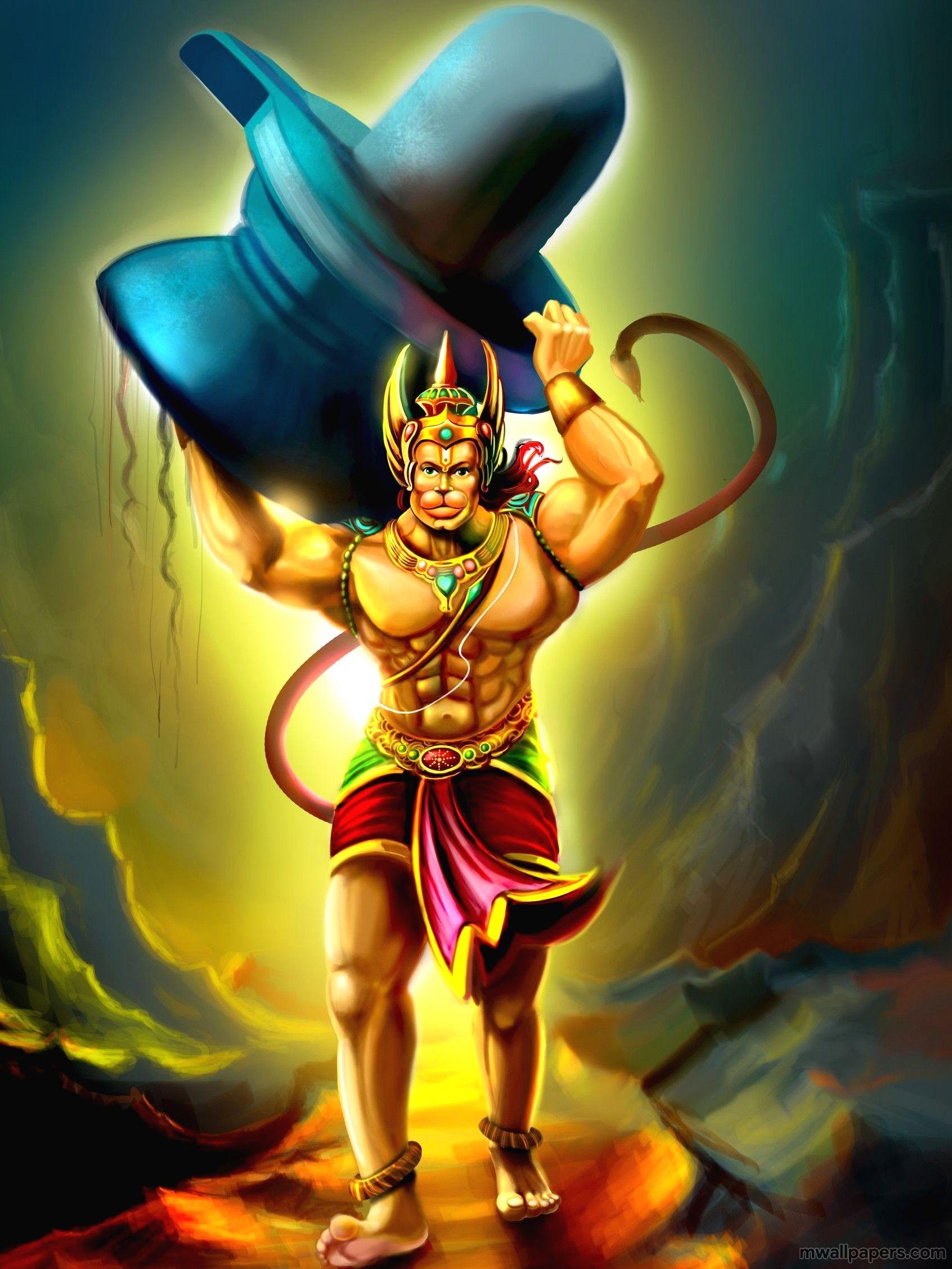 Hanuman Animated Hd Wallpaper Group Pictures 65 Lord Hanuman