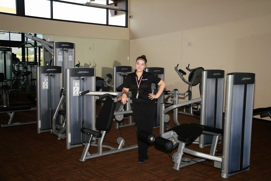Get Moving In The State Of The Art Fitness Center At Adora Trails Club House Master Planned Community Lounge Areas