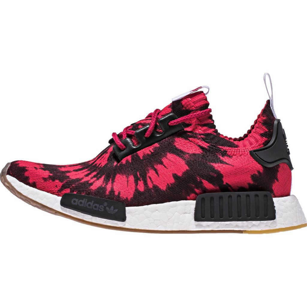 New adidas NMD R1 PK Primeknit BY1888 White Gum Men's Shoes