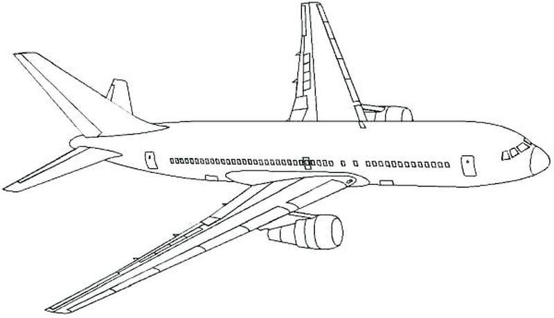 Airplane Aaa Coloring Pages Airplane Coloring Pages Coloring Pages To Print Super Coloring Pages