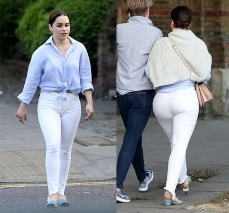 Queen Is Getting T H I C C Emilia Clarke Body Emilia Clarke Hot Type Of Pants