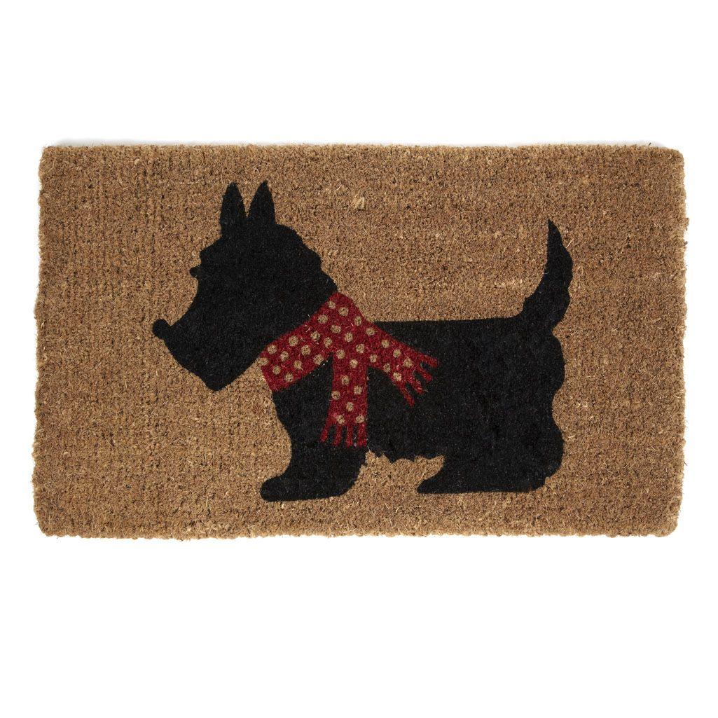 Laura Ashley Scotty Dog Doormat Scottie Dog Door Mat Dog Door Mat