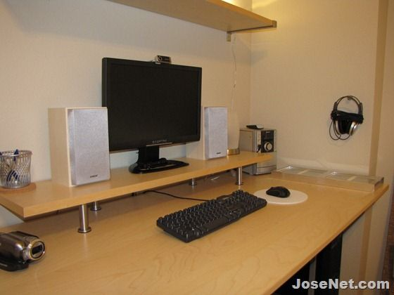 Josenet New Computer Desk Setup From Ikea Home Office