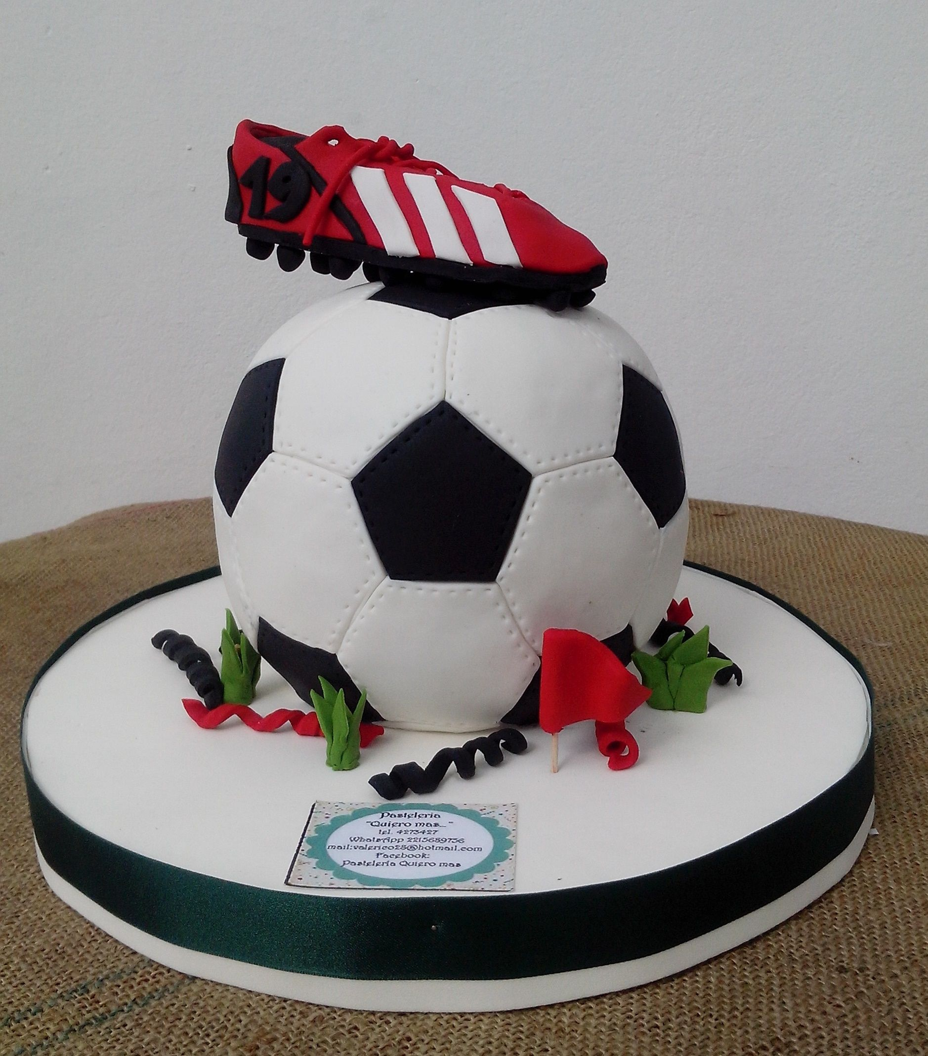 torta pelota de futbol  7b58cfa88b3ee