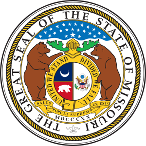 Missouri State Symbols Missouri State Seal This City Pinterest