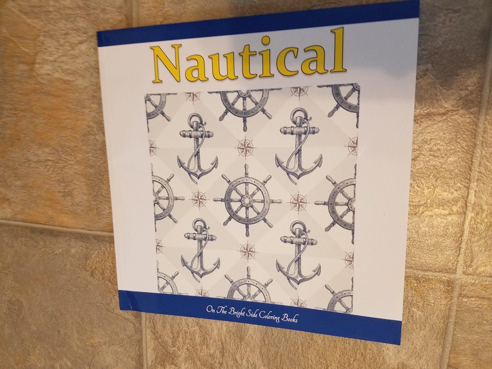 Nautical Adult Coloring Book