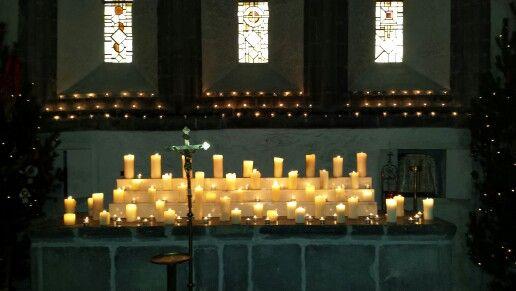 Back altar in ballintubber abbey