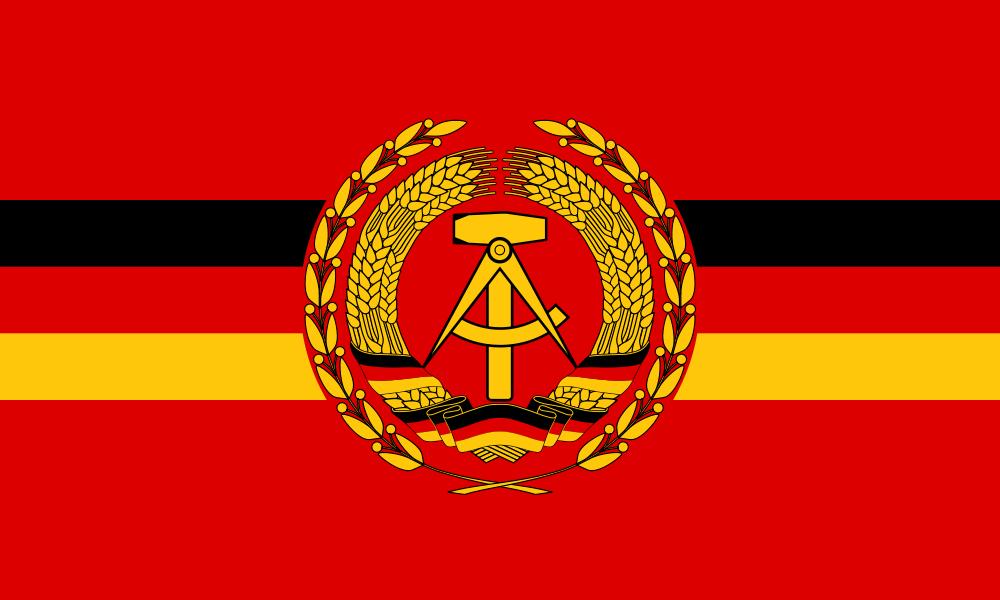 Flag Of East Germany East Germany Germany Flag German Army